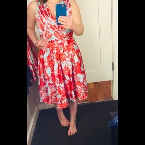 Banana Republic floral dress - Size 8